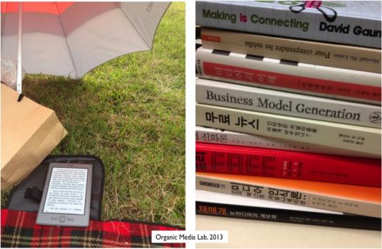 책의 미래는 단순히 전자책이 아니다. 휴대가 간편하고 출판이 수월한 것만을 놓고 책의 미래를 얘기하는 것은 전자책을 CD롬에 비교하는 것과도 같은 오류를 범하게 한다.