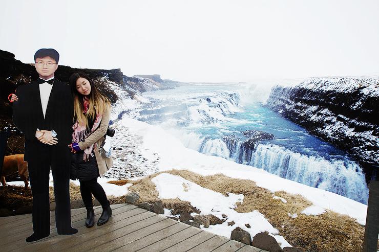 아이슬란드 gullfoss 폭포