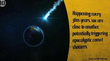 지구의 생명체가 모두 사라질 수 있는 10대 시나리오