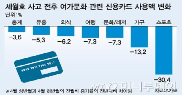 세월호 경제 악영향 강조하는 정부, 받아쓰는 언론