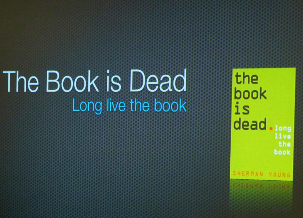 책은 죽었다는 책이 나왔습니다(?)