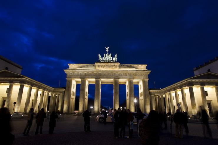 독일 브란덴브르크 문은