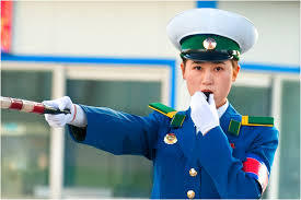 북한_교통경찰