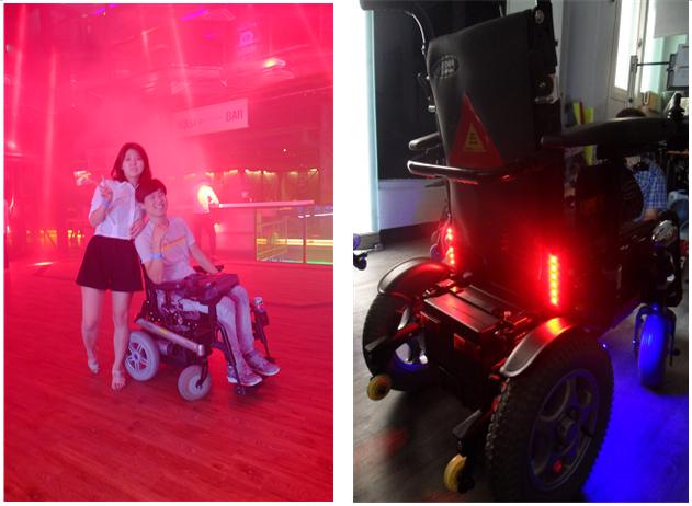 비장애인과 다를 바 없는, 장애인의 옥타곤 클럽 체험기