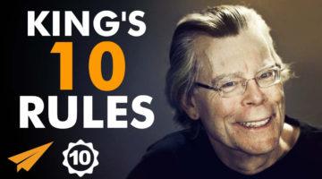 스티븐 킹의 창의적인 글쓰기 팁 10가지