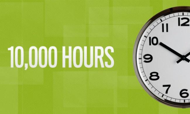 1만 시간의 법칙이 진짜로 의미하는 것