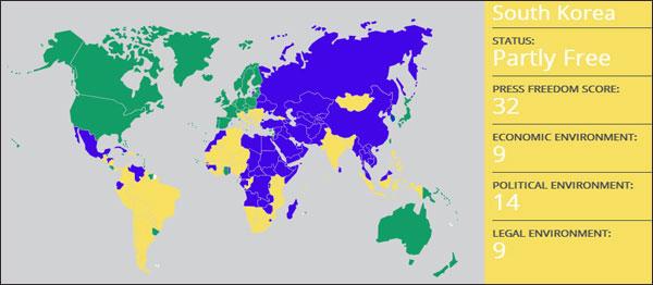 '부분적 언론자유국' 대한민국과 김수영 시인의 언론자유