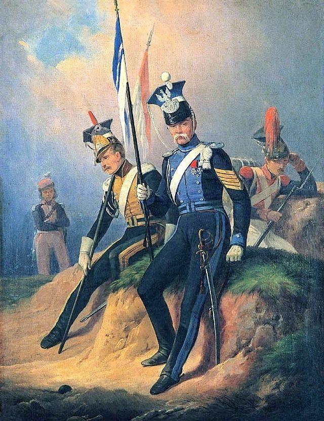 폴란드 병사라고 하면 저 독특한 모자를 쓰고 창을 든 창기병을 연상하게 되는 것은 다 이유가 있는 것입니다.