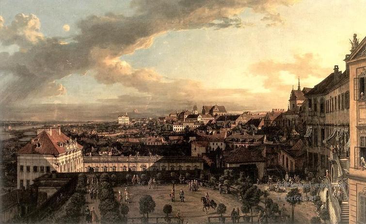 18세기말~19세기 초반 바르샤바의 모습입니다.