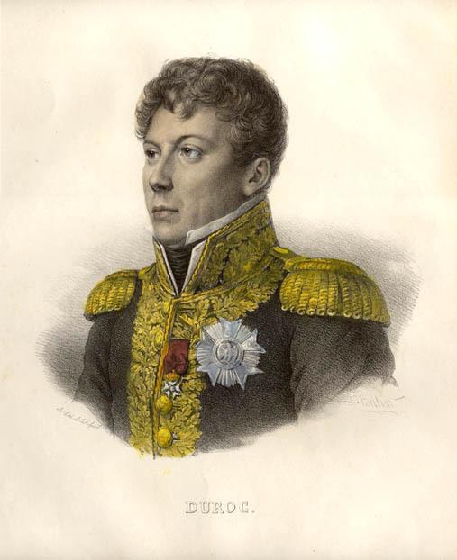 큰 전공은 별로 없으나, 나폴레옹의 절대적인 신임을 받고 있었던 뒤록의 초상입니다. 궁정 장관이었던 그의 역할은 한마디로 나폴레옹의 바깥 살림살이를 돌보는 일이었는데, 때문에 본의아니게 나폴레옹의 여자 심부름도 많이 해야 했습니다.