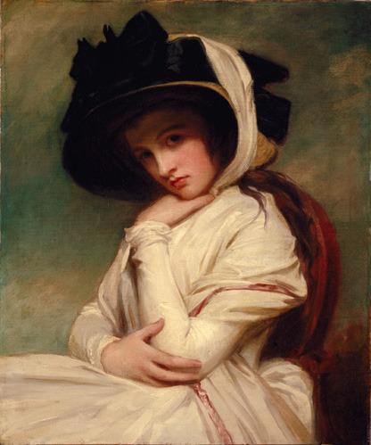 오랜만에 보는 엠마 해밀턴의 초상입니다.