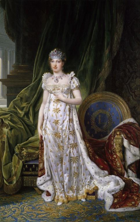 이 황녀님이 합스부르크 가문의 마리 루이즈입니다. 이 여자가 발레프스카와 나폴레옹의 결별을 가져옵니다.