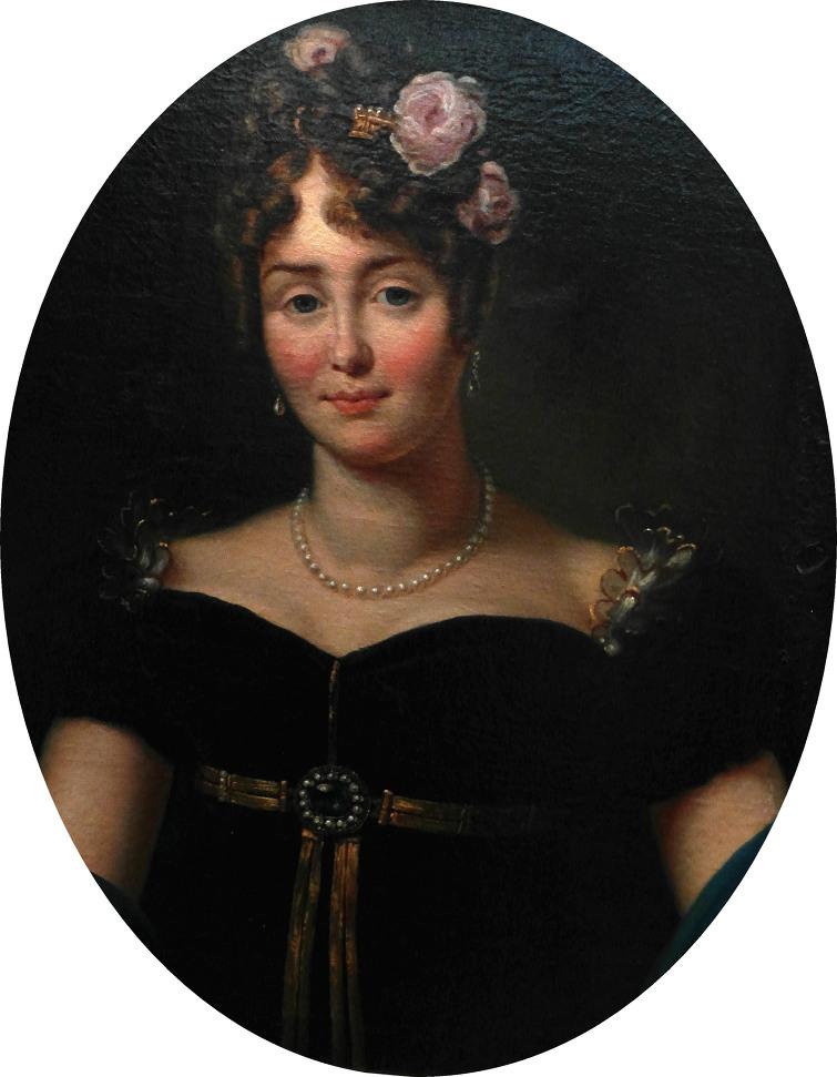 이 그림은 나폴레옹의 궁정 화가라 할 수 있는 제라르 Gerard의 그림이므로, 거의 실제 모습에 가까울 것입니다. 외모만 보면 그렇게까지 미인은 아니라고 생각이 듭니다만, 아마 태도나 교양 등에서 뿜어져 나오는 매력이 대단한 여자였나 봅니다. 클레오파트라도 그런 유형의 미녀였다고 하지요.