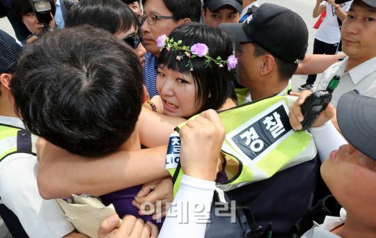 반라 시위 주인공 송아영 인터뷰