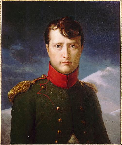 제1통령 시절의 나폴레옹입니다. 사실 객관적으로 못 생긴 편이라고 할 수는 없지요.
