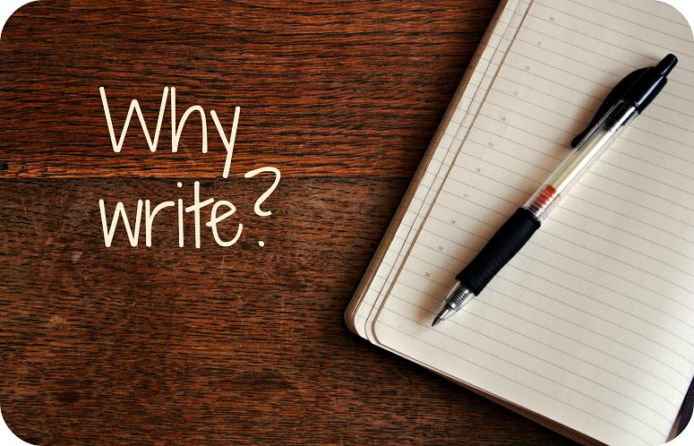 당신이 글을 써야만 하는 이유