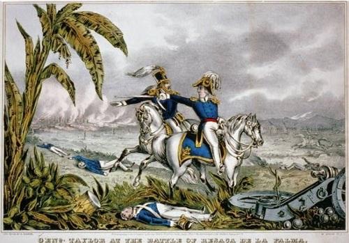 (이 전투는 Resaca de la Palma 전투로 기록됩니다.)