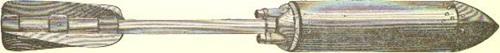 [ 최초의 Dynamite Gun인 Zalinski Dynamite Gun의 포탄, Zalinsk는 이 포를 실용화하는데 성공한 미군 포병장교의 이름입니다. ]