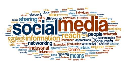해외 브랜드는 소셜 미디어를 메인 미디어로 사용하고 있다