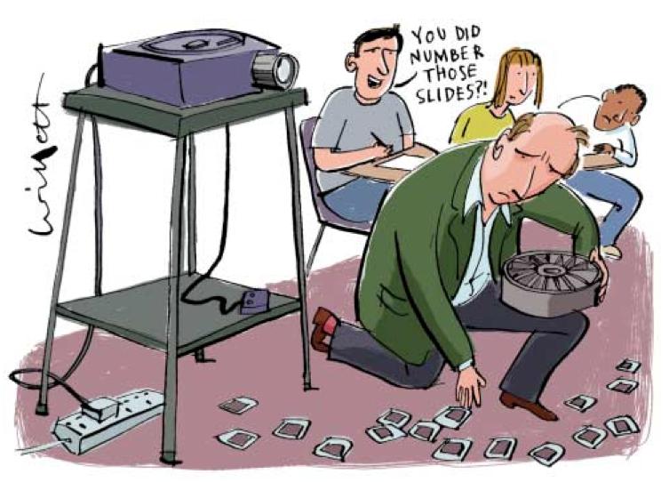 프레젠테이션에서 넘버링 잘 하는 방법은?