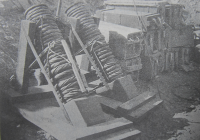 박격포란 이름이 붙은 최초의 물건들, 급조 제작된거라 디테일은 조금씩 다릅니다.
