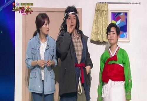 오른쪽이 김미화