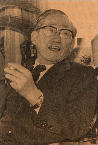 최석채 선생의 모습.