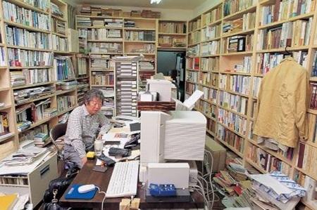 다치바나 다카시의 작업실