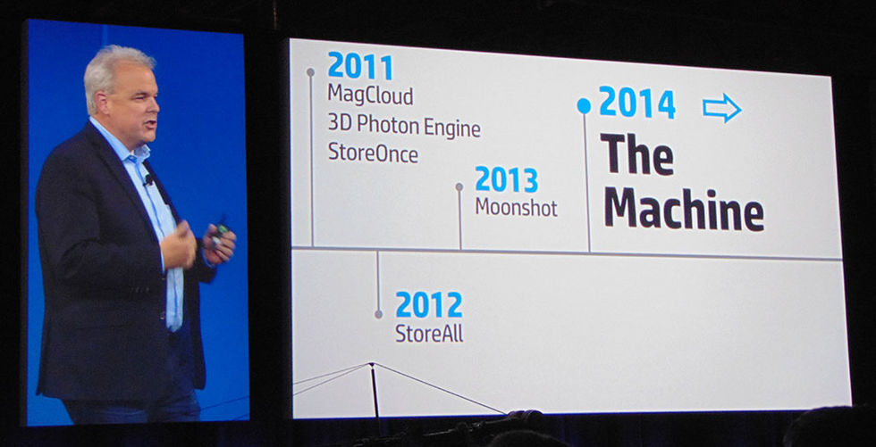 HP의 신개념 컴퓨팅 더 머신, 세상을 바꿀 수 있을 것인가