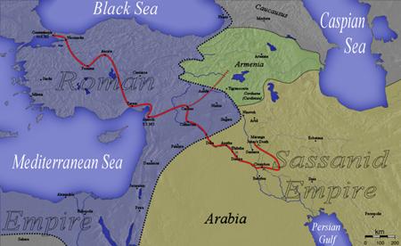 그에게는 다행히도 로마군의 약탈로 집을 잃은 아랍전사들이 힘을 보태주었다.