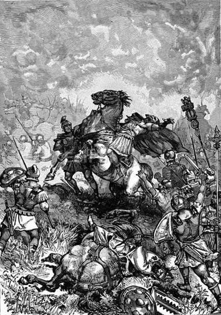 Death of Roman emperor Julian the Apostate