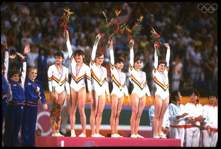ROMANIA WOMEN GYMANSTICS TEAM