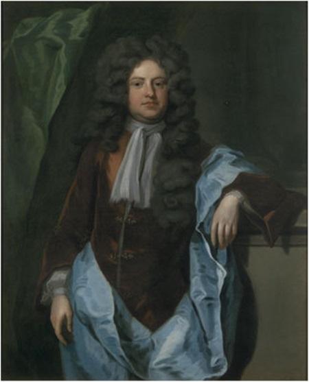 (영란은행 설립을 제안한 것은 패터슨이지만, 3년 뒤 실제로 그 세부 사항을 고안한 것은 여기 나오는 제1대 할리팩스 백작인 챨스 몬테규 Charles Montagu 였습니다. 영란은행 설립의 공을 인정받아 그는 영국 재무부 장관이 됩니다.)