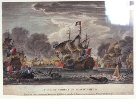 (비치헤드 해전은 해전 중에서는 드물게도 영국식 지명이 붙은 해전입니다. 그만큼 영국이 수세에 몰린 전투였다는 반증이지요.)