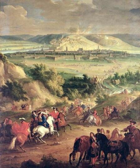 (1692년 6월 지금의 벨기에 지방인 나뮈르 Namur 포위전입니다. 이 전투도 9년 전쟁의 일환이었고, 프랑스 측에서는 루이 14세와 함께 공성전의 대가인 보방 Vauban도 직접 참여했었습니다.)