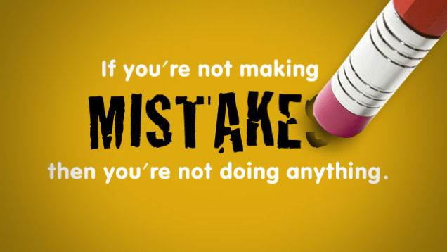 실수는 예방하는 것이 아니라 관리하는 것이다
