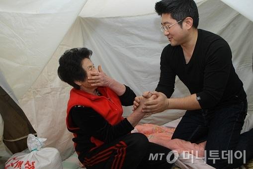 """한국의 탐스슈즈, 빈곤가정에 난방텐트 보내는 """"바이맘"""""""