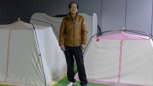 '텐트의 전설' 노경석 바이맘 이사. 사진 이경숙 이로운넷 머니투데이