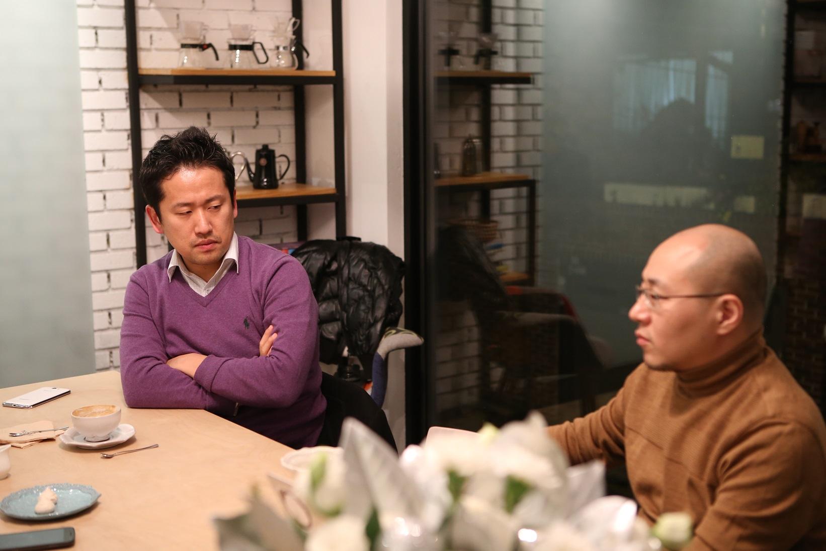 정주용 (좌) / 김종득 (우)