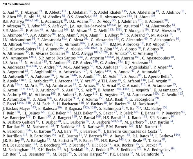 흔한 과학논문의 저자 목록의 극히 일부 (A-B만)