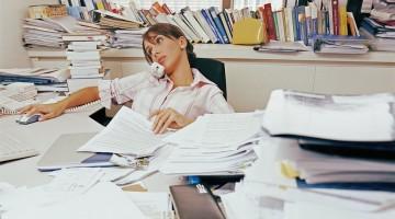 책상 정리정돈, 의외로 큰 스트레스다