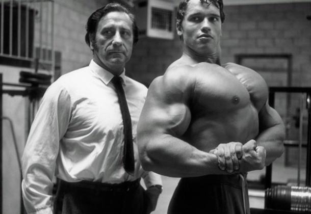 아놀스 슈왈제네거(右)와 조 웨이더