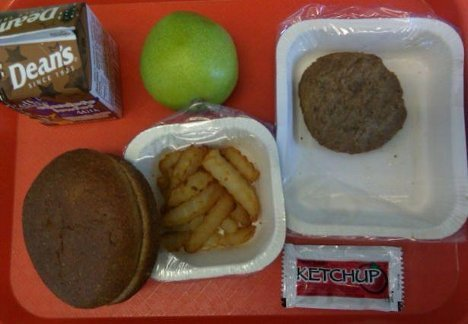 school-lunch-burger-fries
