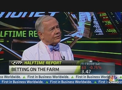 짐 로저스는 농업에 베팅하라고 권한다.