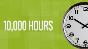 스마트하게 노력하면 1만 시간 걸리지 않고도 정상에 설 수 있다.