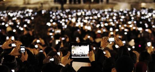 2013년 교황 선출 풍경, 바티칸