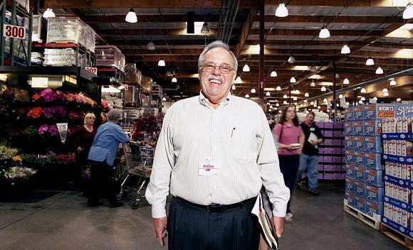 푸근한 외모에 엄청난 내공, Jim Sinegal 아저씨(COSTCO 창업자)