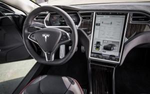 Tesla Model S 내부