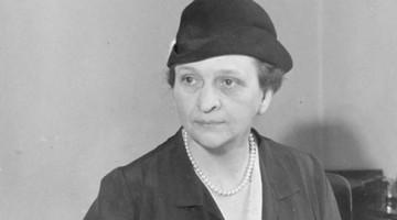 미국 최초의 여성장관, 프란시스 퍼킨스
