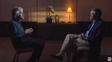 빌 게이츠와 스티븐 핑커, '우리 본성의 선한 천사'를 이야기하다